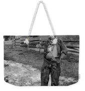Cowgirl, C1906 Weekender Tote Bag