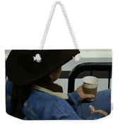 Cowgirl Rodeo Rest Weekender Tote Bag
