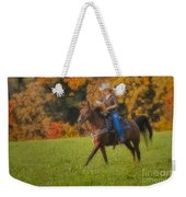 Cowgirl Weekender Tote Bag by Susan Candelario