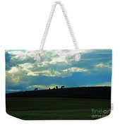 Cows On The Hill Weekender Tote Bag