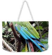 Coy Parrot Weekender Tote Bag