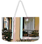 Cozy Arches Weekender Tote Bag