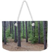 Cozy Conifer Forest Weekender Tote Bag