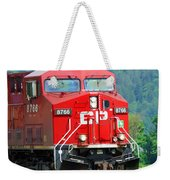 Cp Coal Train Weekender Tote Bag