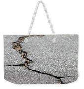 Crack In The Street Weekender Tote Bag