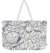 Cracked Earth Weekender Tote Bag