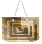 Cracks In The Veneer Weekender Tote Bag