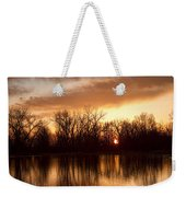 Crane Hollow Sunrise Before The Storm Weekender Tote Bag