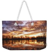 Crane Hollow Sunrise Boulder County Colorado Hdr Weekender Tote Bag