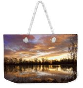 Crane Hollow Sunrise Boulder County Colorado Weekender Tote Bag by James BO  Insogna
