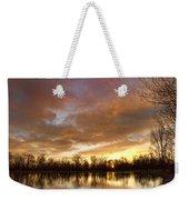 Crane Hollow Sunrise Weekender Tote Bag