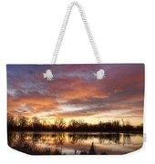 Crane Hollow Sunrise Reflections Weekender Tote Bag