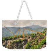 Crane On The Mountain Weekender Tote Bag