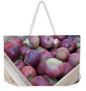 Crate Of Apples Weekender Tote Bag by Kimberly Perry