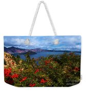 Crater Berries Weekender Tote Bag