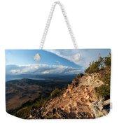 Crater Lake Mountains Weekender Tote Bag
