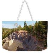 Crater Lake Pinnacles Weekender Tote Bag