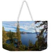 Crater Lake Through The Trees Weekender Tote Bag