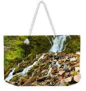 Crater Lake Waterfall Weekender Tote Bag