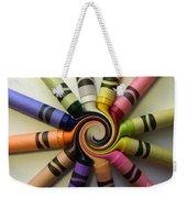 Crayons Weekender Tote Bag
