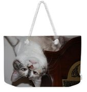 Crazy Cat Weekender Tote Bag