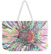 Crazy Daisy Colored Pencil Photoart Weekender Tote Bag
