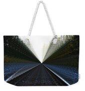 Crazy Tracks Weekender Tote Bag