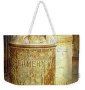 Creamery Cans In 1880 Town No 3098 Weekender Tote Bag