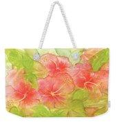 Creamsicle Hibiscus Weekender Tote Bag
