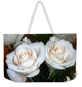 Creamy Roses I Weekender Tote Bag
