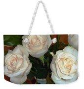 Creamy Roses II Weekender Tote Bag