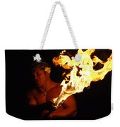 Creating With Fire Weekender Tote Bag