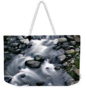 Creek Flow Panel 3 Weekender Tote Bag