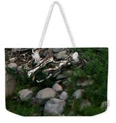 Creek Flow Panel 4 Weekender Tote Bag