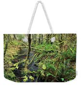 Creek In The Rain Forest Weekender Tote Bag