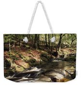 Creek In Woods, Cloughleagh, County Weekender Tote Bag