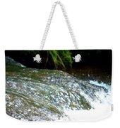 Creek Water Splash Weekender Tote Bag