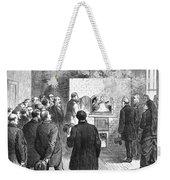 Cremation, 1876 Weekender Tote Bag