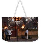 Cressets Light The Way Weekender Tote Bag