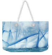 Crevasses Created By The Melting Weekender Tote Bag