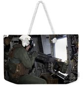 Crew Chief Fires An M2 .50-caliber Weekender Tote Bag