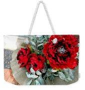 Crimson Desire Weekender Tote Bag