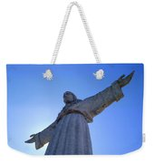 Cristo Rei Weekender Tote Bag by Anonymous