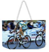 Criterium Bicycle Race 3 Weekender Tote Bag