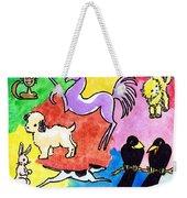 Critters Weekender Tote Bag
