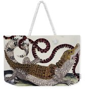 Crocodile & Snake Weekender Tote Bag