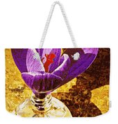 Crocus Graphic  Weekender Tote Bag