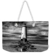 Crooked Lighthouse Weekender Tote Bag by Adrian Evans