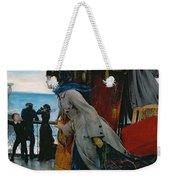 Cross Atlantic Voyage Weekender Tote Bag by Henry Bacon