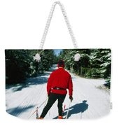 Cross-country Skiing, Lake Placid, New Weekender Tote Bag